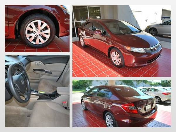 2012 Honda Civic LX *You Save $ 1017! Below KBB Retail