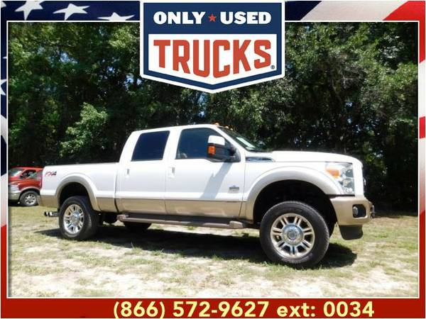 2012 *Ford F250* *F-250*F 250* King Ranch 4x4 Super Duty (8cyl, 6.7L,