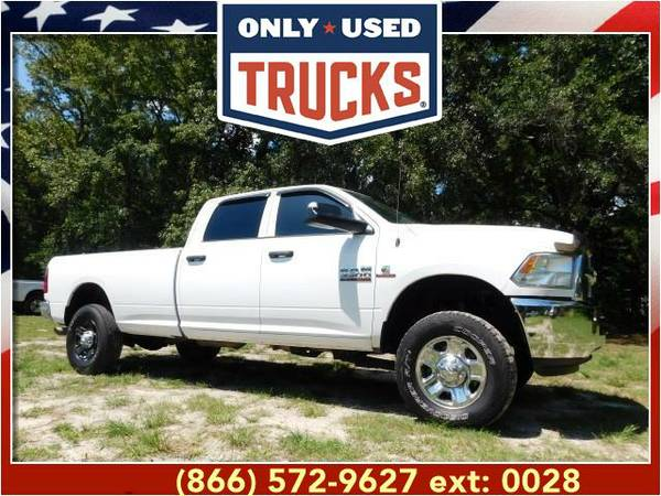 2014 *Ram 3500* Tradesman 4x4 (6cyl, 6.7L, 383.0hp) WE SPECIALIZE IN...