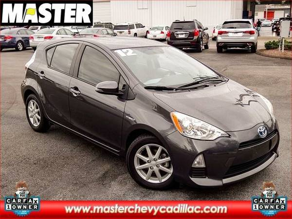 2012 *Toyota PRIUS C* THREE - (Summer Rain Metallic)