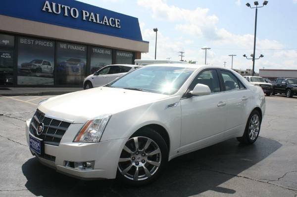 2008 Cadillac CTS-AWD, NAV, Cooled-Heated Seats, Panoramic Sunroof