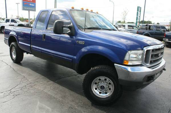 2003 Ford F250-Super Duty, Gas, 4X4, Long Bed
