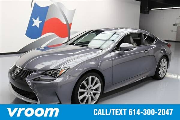 2016 Lexus RC 200t 200t 2dr Coupe (2.0L 4cyl 8A) Coupe 7 DAY RETURN /