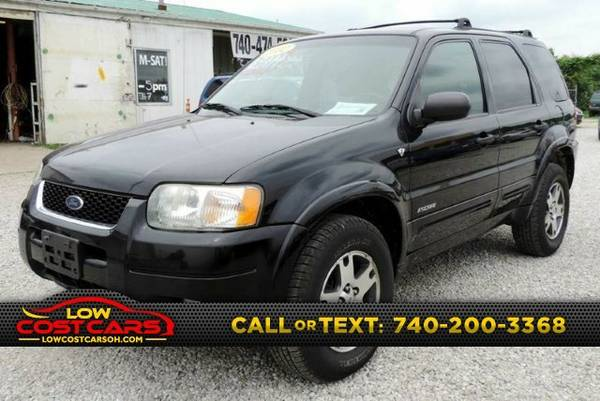 2002 Ford Escape XLT Choice 4WD 4dr SUV SUV Escape Ford