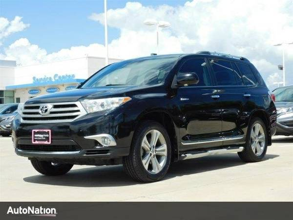 2012 Toyota Highlander Limited SKU:CS066162 Toyota Highlander Limited