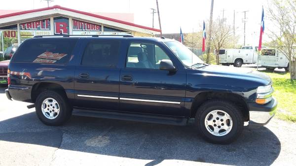 05 BLUE CHEVY SUBURBAN__ @ TRIPLE R MOTORS!__ $1200 DOWN