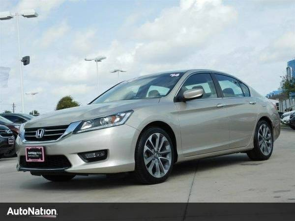 2014 Honda Accord Sport SKU:EA054007 Honda Accord Sport Sedan