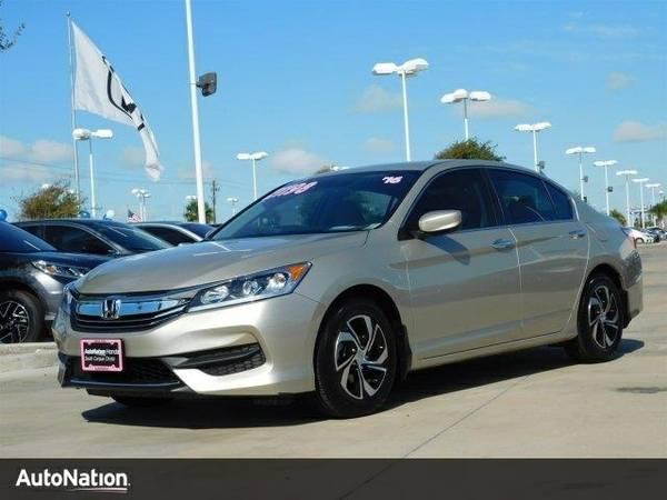 2016 Honda Accord LX SKU:GA130315 Honda Accord LX Sedan