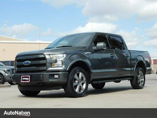 2015 Ford F-150 King Ranch SKU:FKE37079 Ford F-150 King Ranch SuperCre