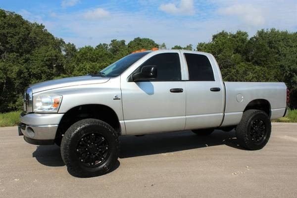 TEXAS OWNED LEVELED 2008 RAM 2500 4X4-SUPER CLEAN-ADULT OWNED