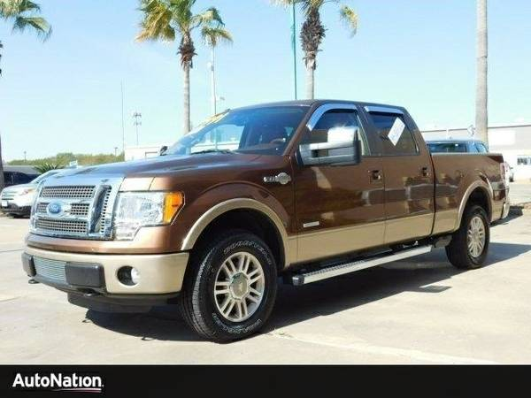 2012 Ford F-150 King Ranch SKU:CKD77373 SuperCrew Cab