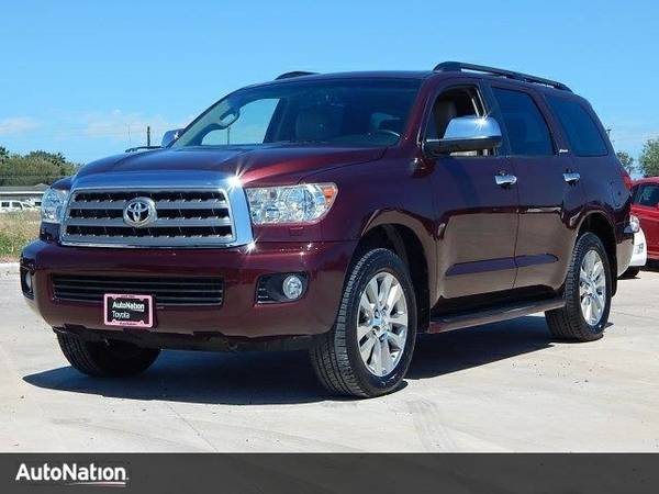 2011 Toyota Sequoia Ltd SKU:BS036431 Toyota Sequoia Ltd SUV