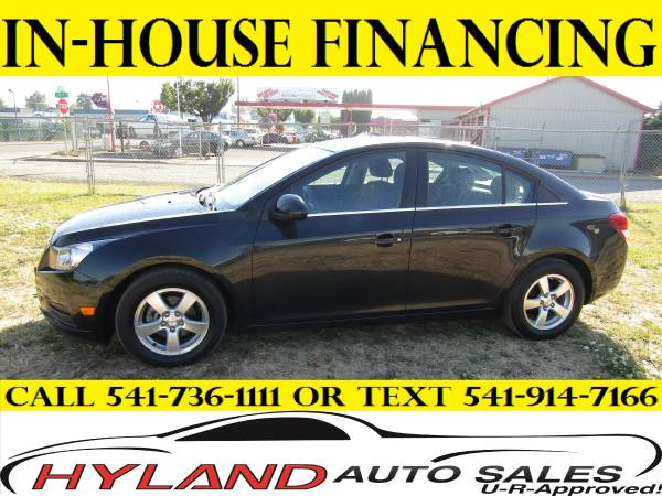 2013 CHEVROLET CRUZE LT **U-R APPROVED !!! @ HYLAND AUTO SALES **