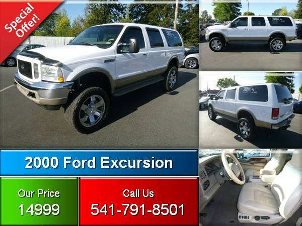 2000 Ford Excursion Limited 4x4