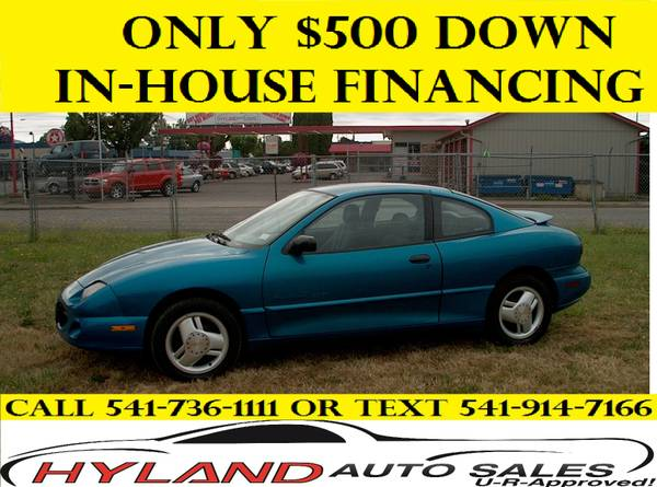 1996 PONTIAC SUNFIRE GT *CREDIT IS EASY @ HYLAND AUTO SALES **
