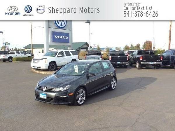 2012 Volkswagen Golf R 2dr HB w/Sunroof & Navi Coupe Golf R Volkswagen