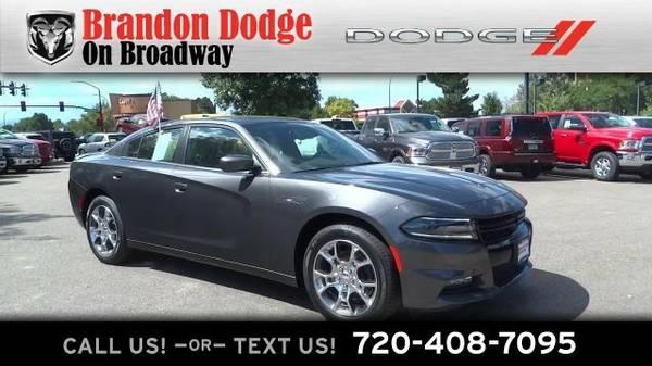 2015 Dodge Charger SXT Sedan Charger Dodge