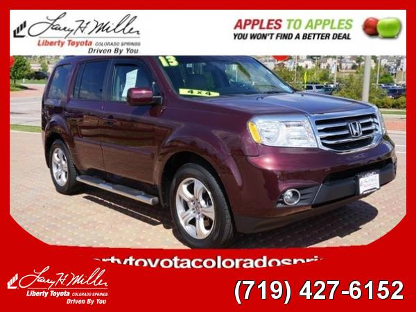 2013 Honda Pilot EX-L V6 Leather Seats SUV 13