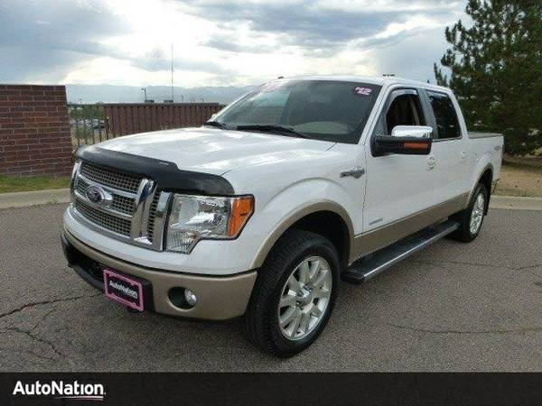 2012 Ford F-150 King Ranch SKU:CKD43211 Ford F-150 King Ranch SuperCre