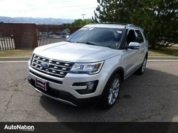 2016 Ford Explorer Limited SKU:GGA19822 Ford Explorer Limited SUV