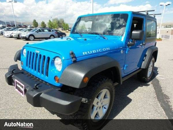 2011 Jeep Wrangler Rubicon SKU:BL574601 SUV