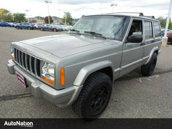 2000 Jeep Cherokee Limited SKU:YL161533 SUV