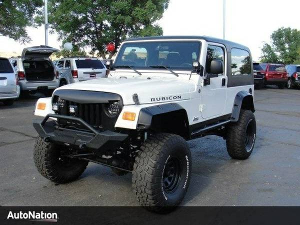 2005 Jeep Wrangler Rubicon SKU:5P360398 SUV