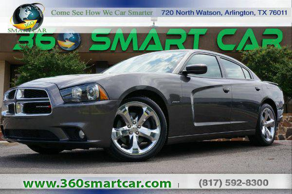 2014 *Dodge* *Charger* R/T Navigation Beats Audio Sunroof - Over 500 v