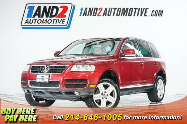 2004 Volkswagen Touareg **Heated Leather Seats**Power Sunroof**Air Co.
