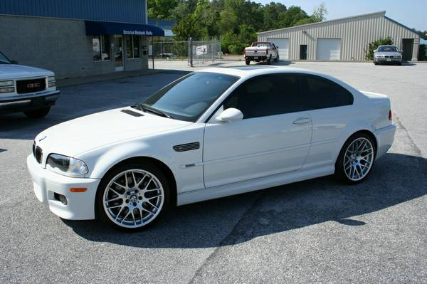 2005 BMW M3 ZCP 6 speed Low Low Miles
