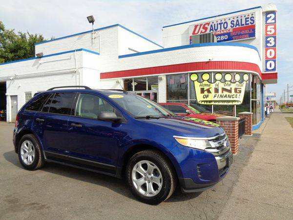 2013 *FORD* *EDGE* SE -BAD CREDIT NO PROBLEM! YOU'RE APPROVED