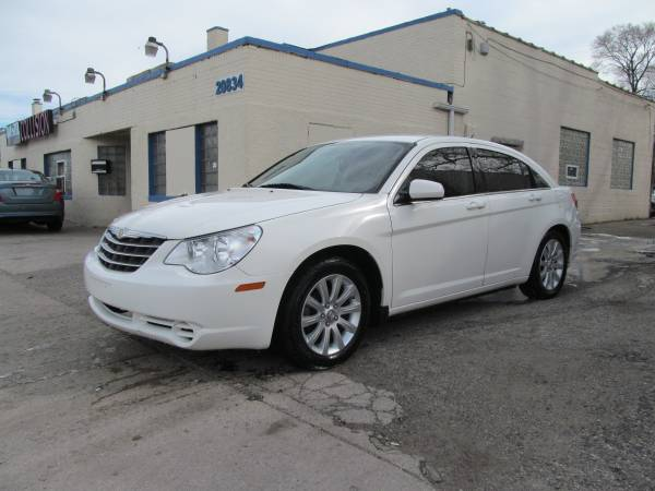 2010 CHRYSLER SEBRING GOOD RUNNING CAR LEATHER ( 1195 DOWN PAYMENT )