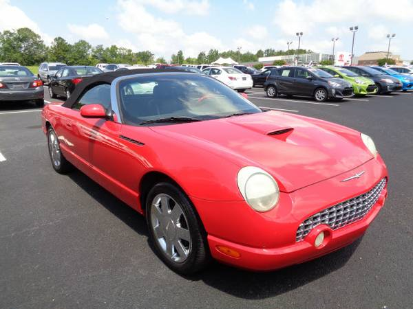 2002 Ford Thunderbird Deluxe 2dr Convertible Deluxe