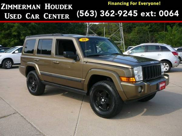 2009 *Jeep Commander* Sport 4WD - GOOD OR BAD CREDIT!