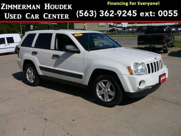 2006 *Jeep Grand Cherokee* Laredo 4WD - GOOD OR BAD CREDIT!