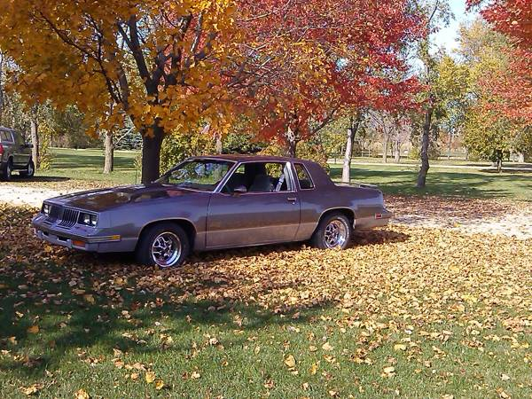 1985 Olds Cutlass 442 w/Hurst options