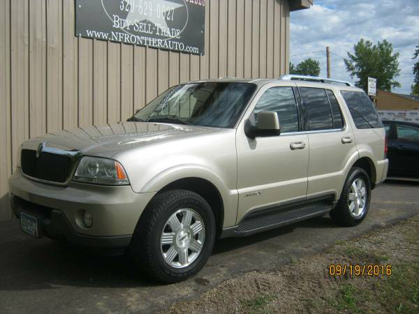 2004 LINCOLN AVIATOR 4.6L-V8