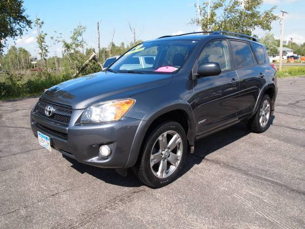 2010 TOYOTA RAV4 SPORT 4WD GAS-SAVING SUV! EXTRA CLEAN! NEW TIRES!