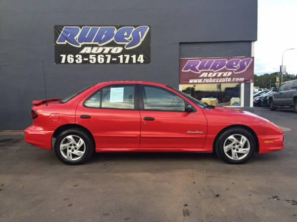2001 Pontiac Sunfire *4-door* LOW MILES
