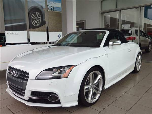 2013 AUDI TT QUATTRO CONVERTIBLE PRESTIGE/NAV/HEATED LEATHER/LOW MILES