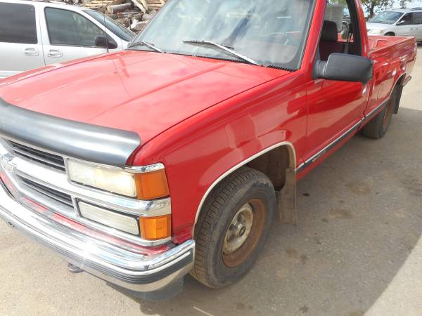 1997 Chevy 1500 2wd Truck