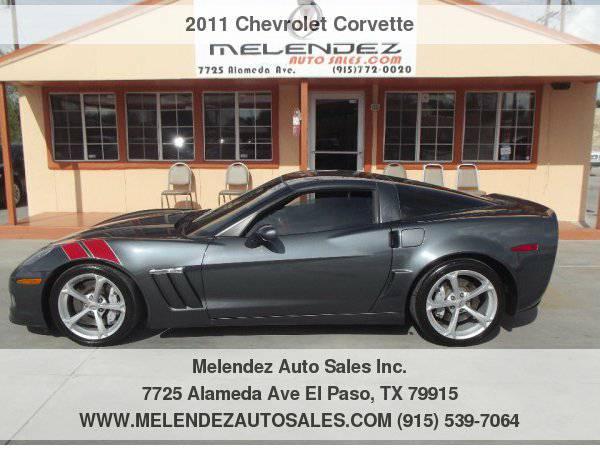 2011 Chevrolet Corvette 2dr Cpe Z16 Grand Sport w/2LT