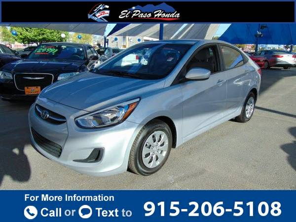 2016 *Hyundai* *Accent* *4dr* *Sedan* *Manual* *SE* 16k miles