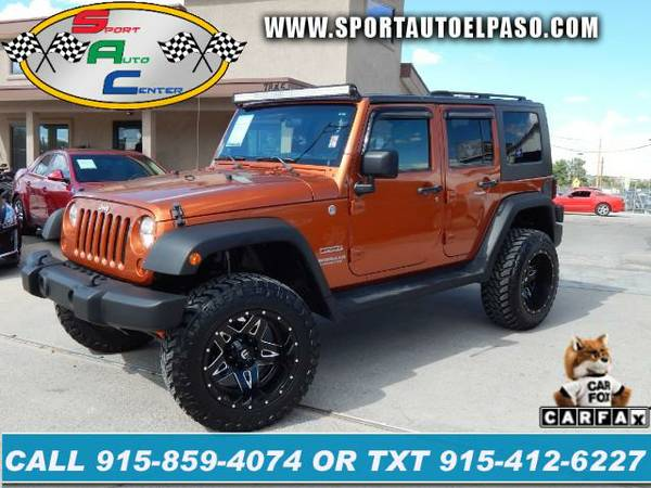 2010 Jeep Wrangler Unlimited 4WD