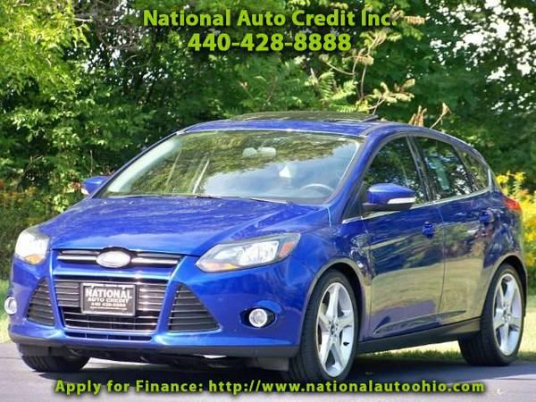 2013 Ford Focus Titanium Hatch. 1-Owner Vehicle. Navigation & Son