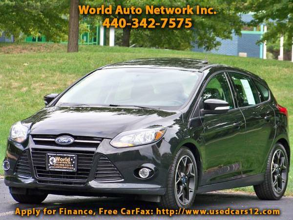 2014 Ford Focus SE 4dr Hatch. 1-Owner vehicle. Heated Leather Seat