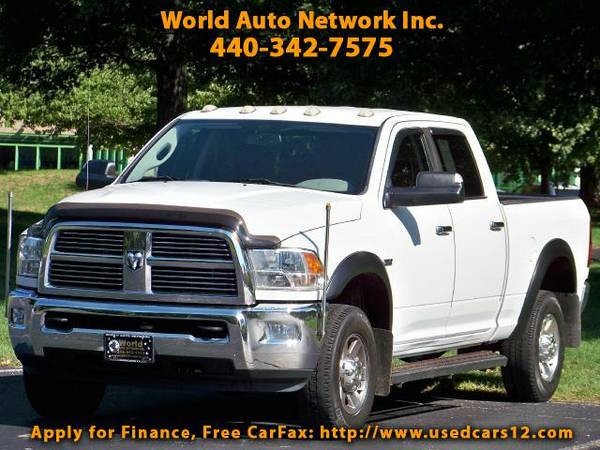2010 Dodge Ram 2500 Crew Cab 4WD 5.7 Hemi Engine. 1-Owner vehicle. Ful