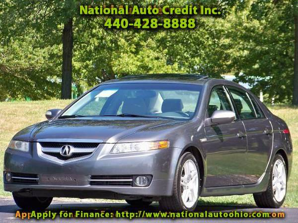 2008 Acura TL GPS Navigation System. 1-Owner Vehicle. Low Mileag
