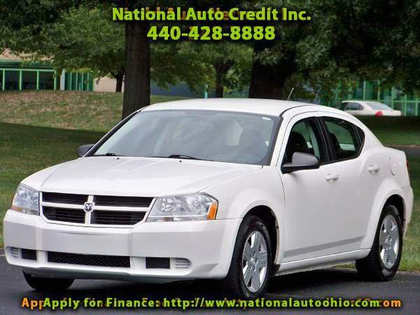 2009 Dodge Avenger SE. 1-Owner Vehicle. Alloy Wheels. WELL MAINTAIND.