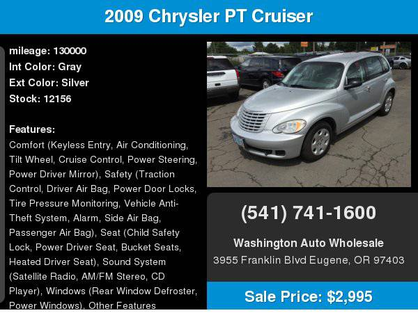 2009 Chrysler PT Cruiser 4dr Wgn LX